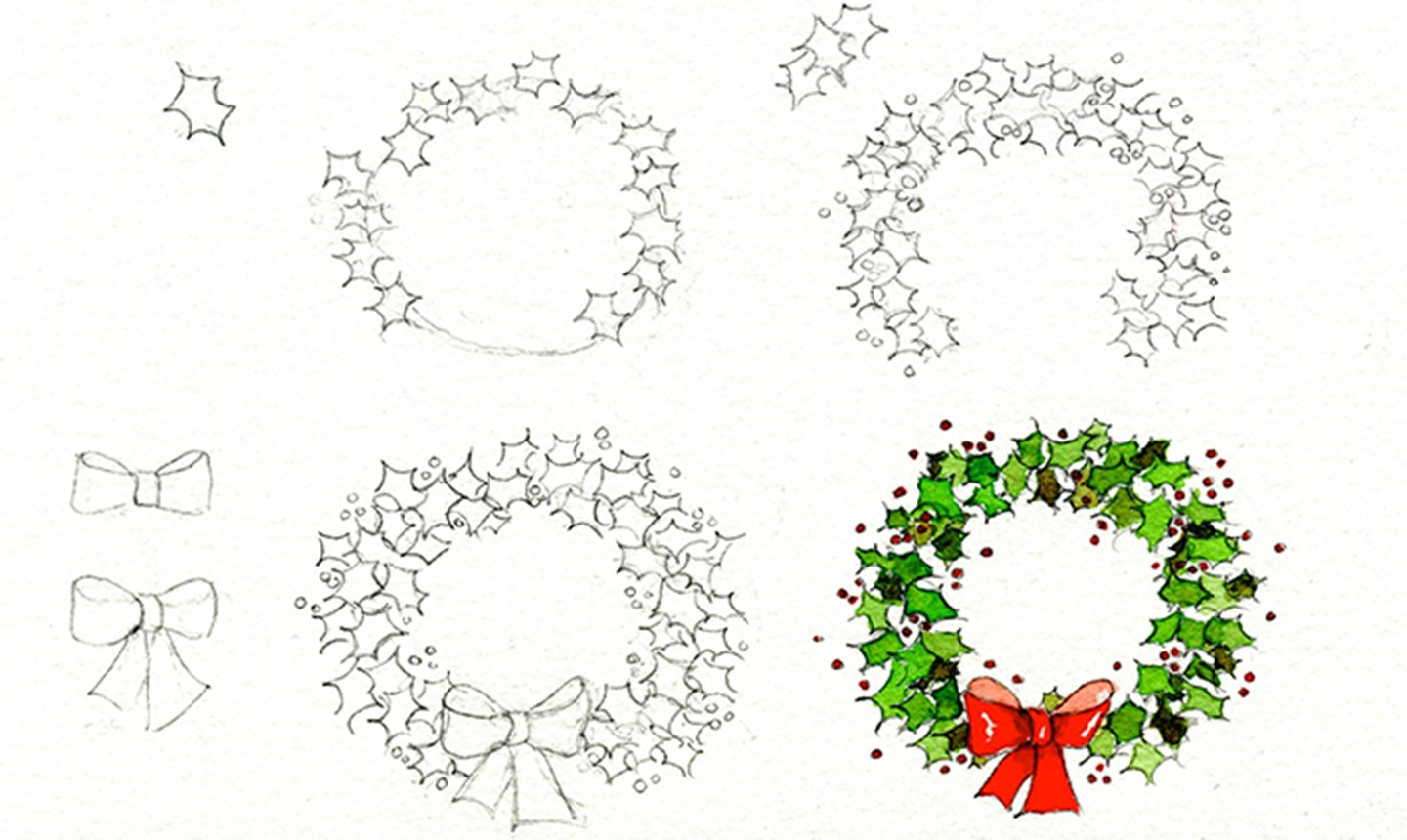 8 Christmas Drawing Ideas To Get In The Holiday Spirit
