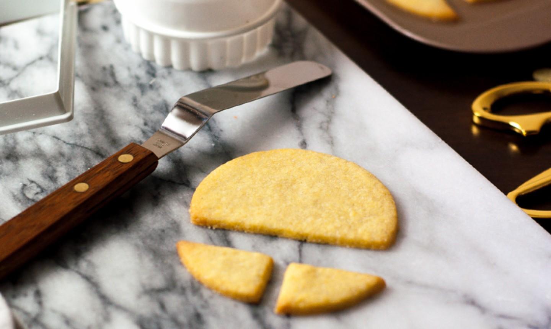baked sugar cookies for menorah