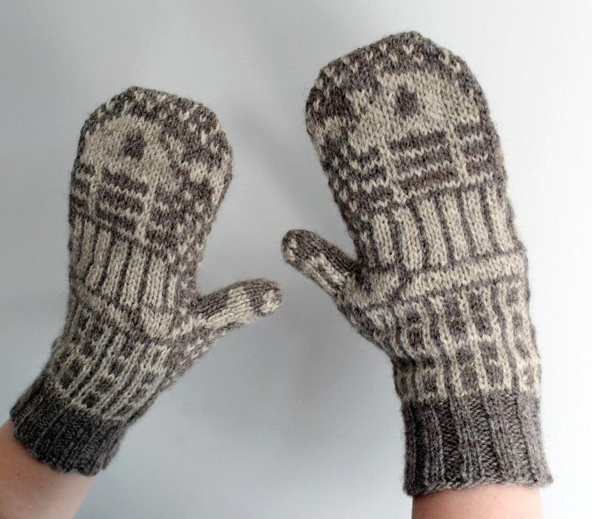 Knitting Patterns Many Mittens