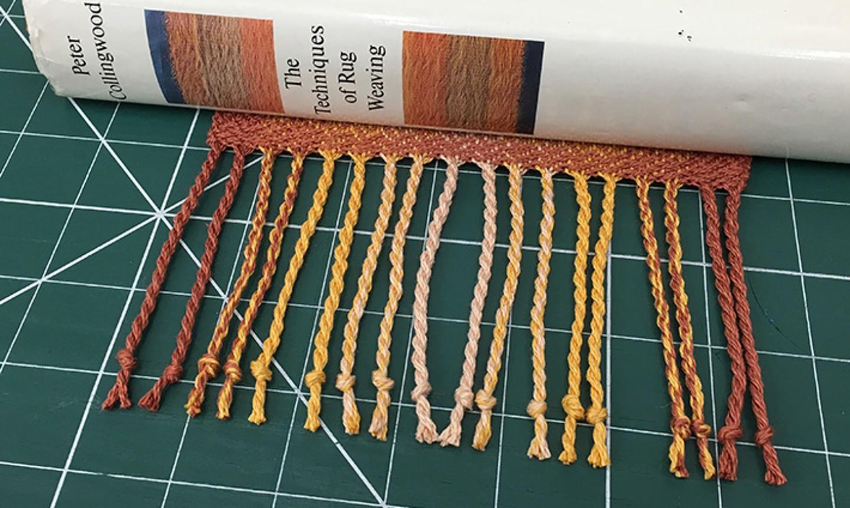 finished twisted fringe