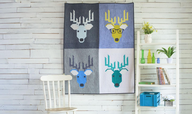deer quilt
