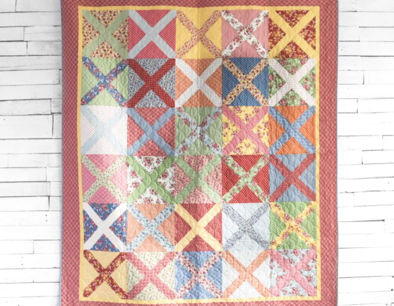 cross hatch quilt