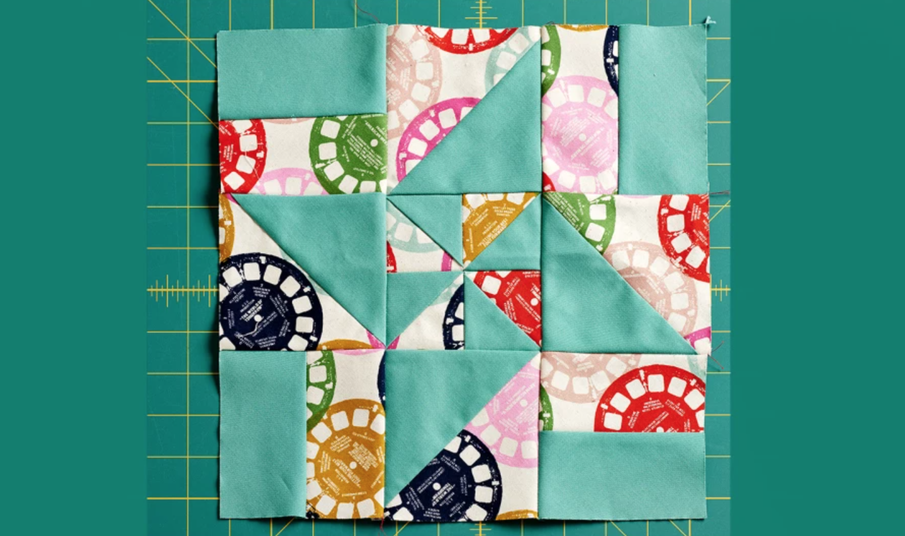hst layer cake quilt block
