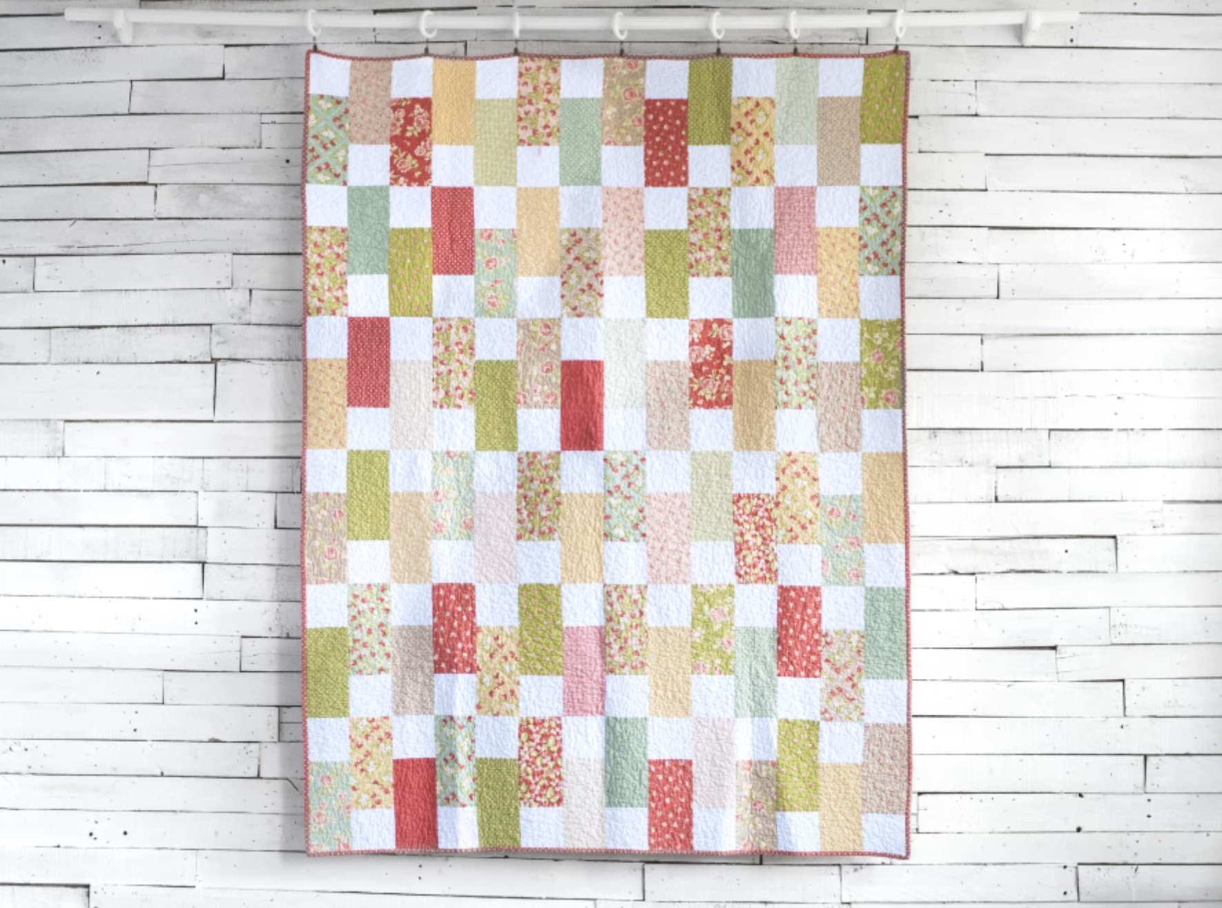 layer cake brick quilt