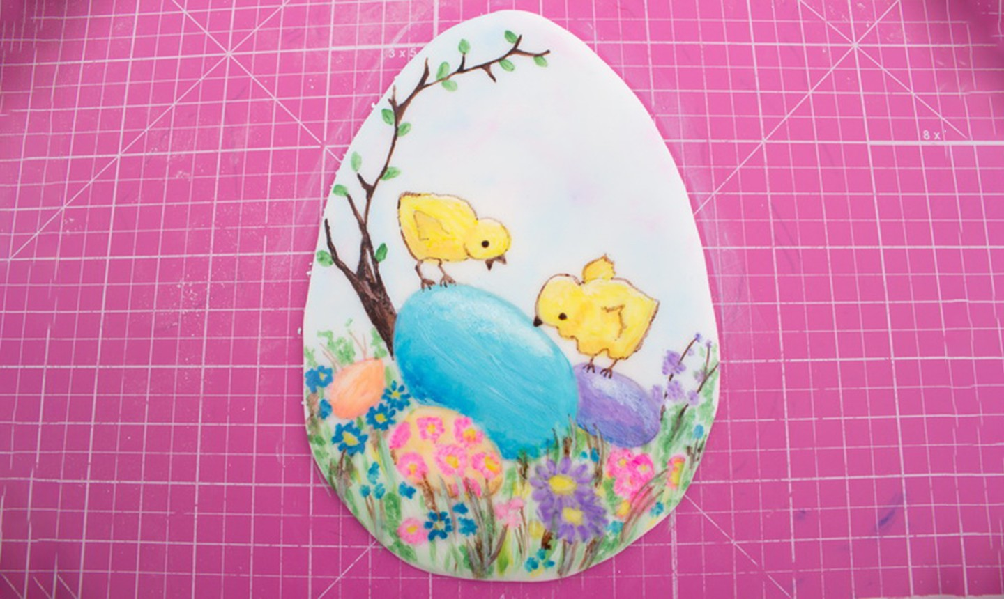 painted dust easter image