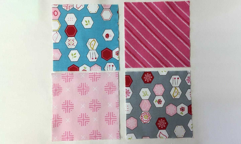 fabric squares for mug rug backing