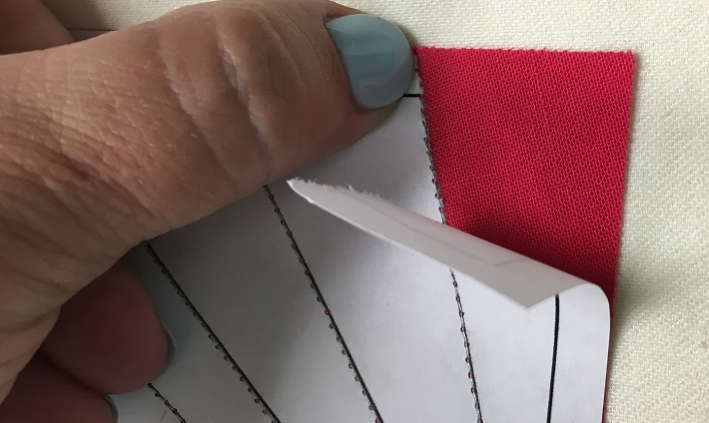 removing paper template