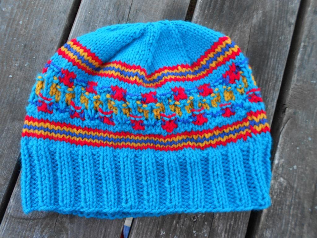 My Bohus Experiment Hat