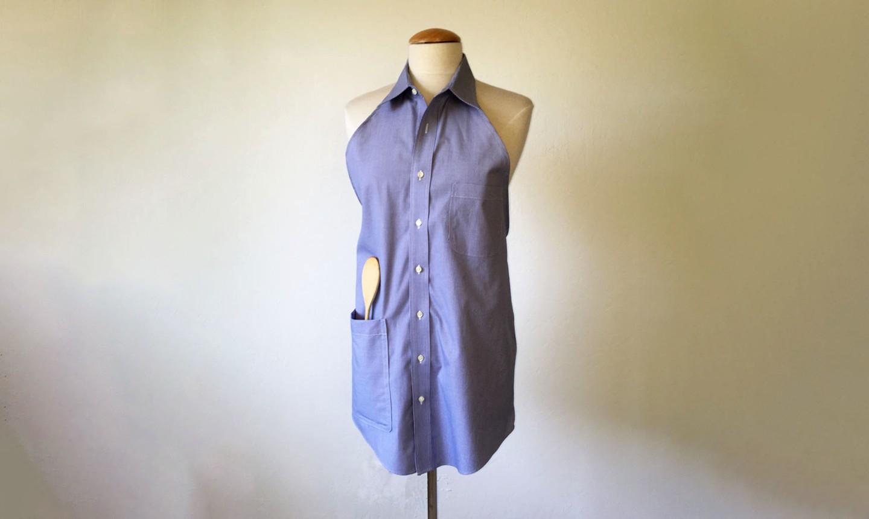 shirt apron on mannequin