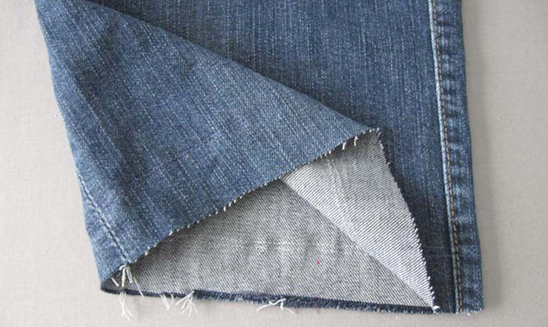 frayed jean shorts