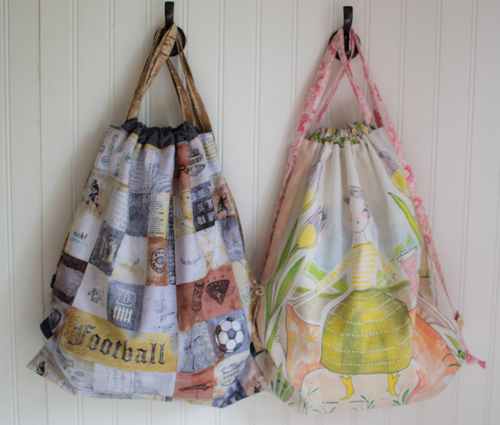Free Drawstring Backpack Sewing Pattern