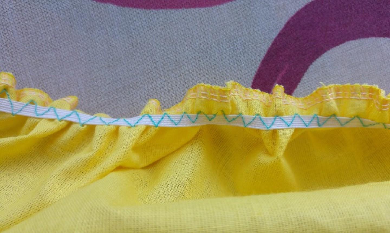 Stitched fabric