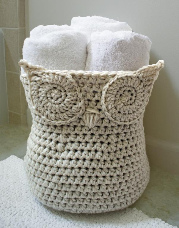 Uncinetto Shabby.How To Crochet A Basket Free Tutorial Pattern