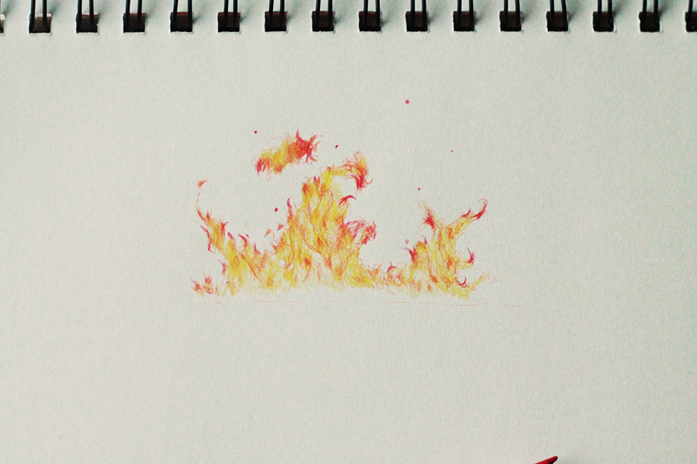 How To Draw Fire 3 Drawing Tutorials