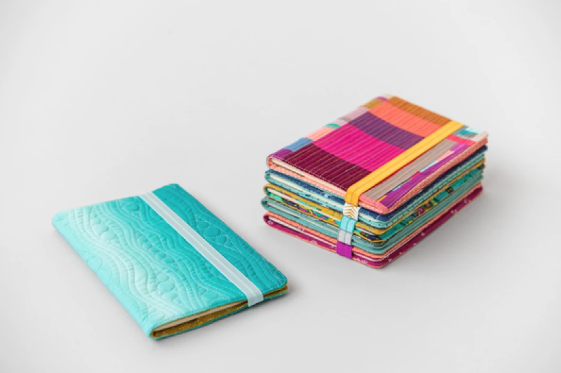 quilted journal covers