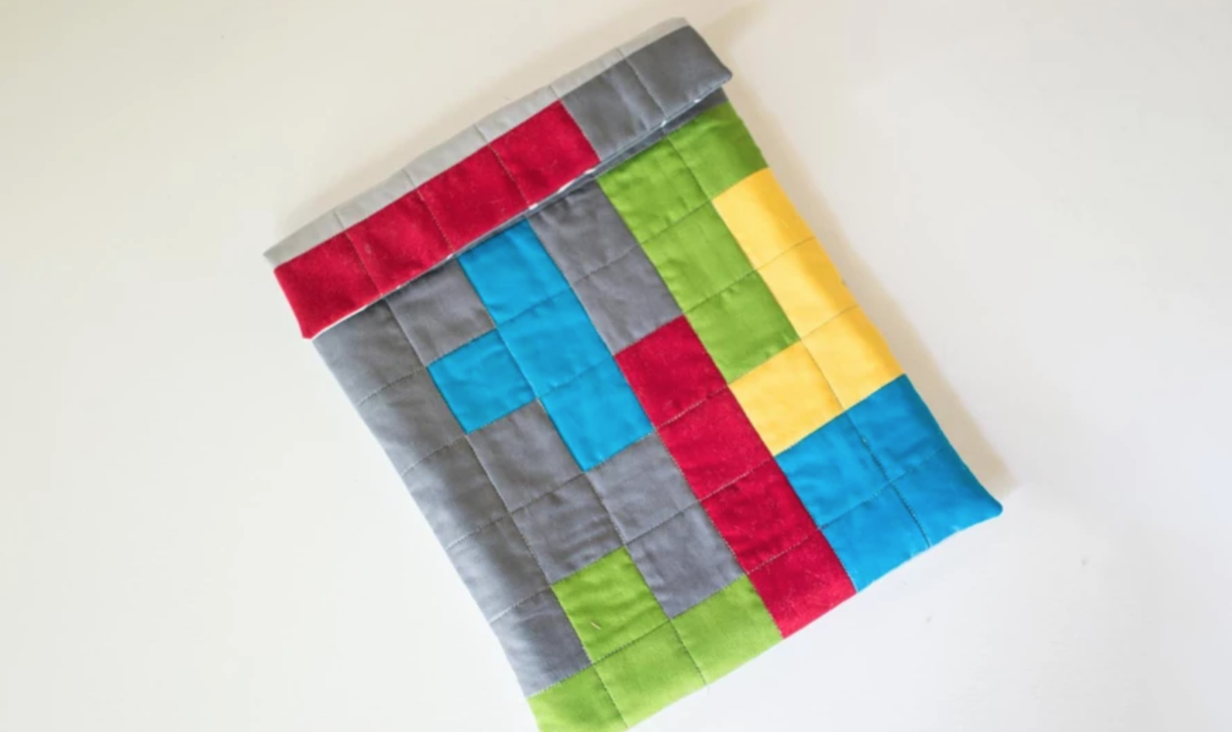 tetris quilted tablet case