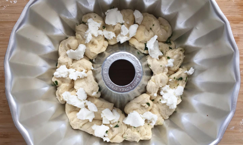 cheesy garlic bread dough