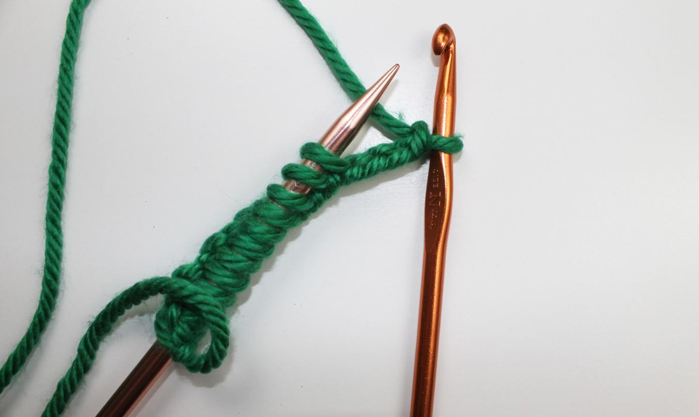 crochet cast on variation