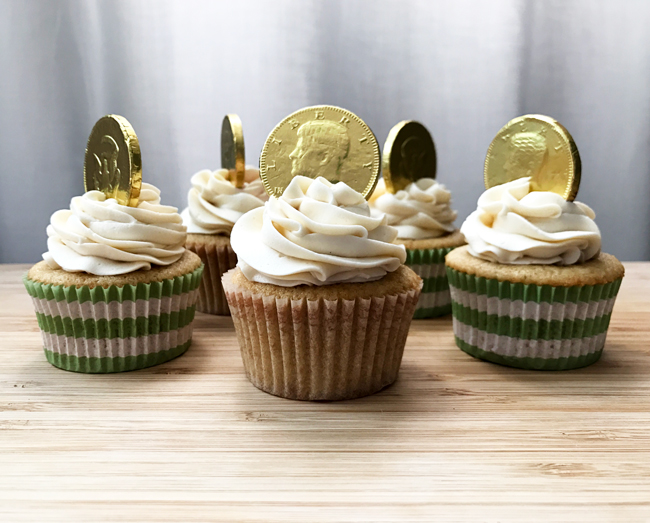 whiskey cupcakes