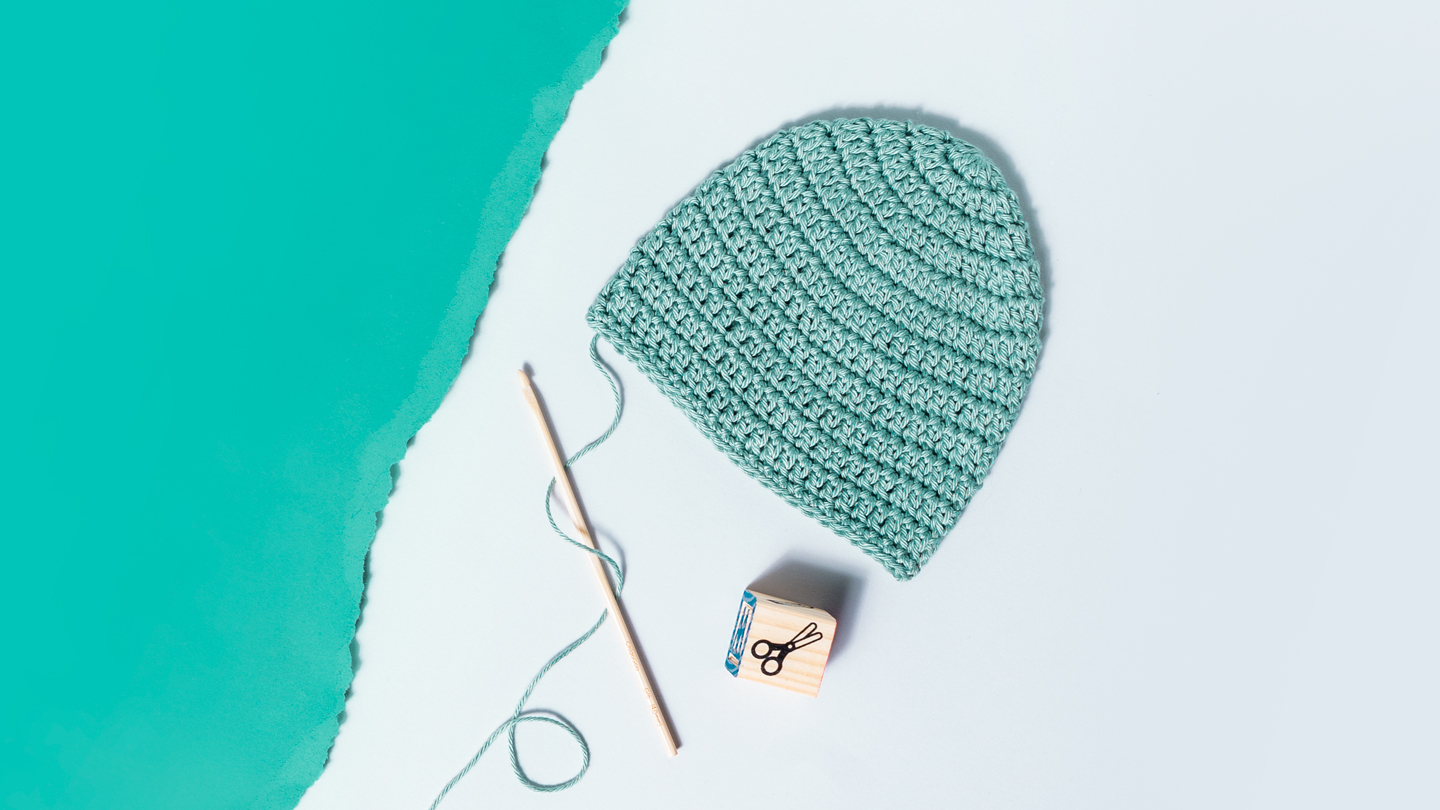 How To Crochet A Baby Hat Step By Step
