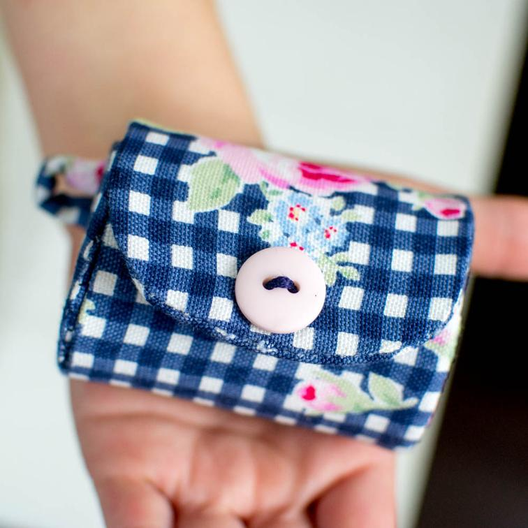 Milk Carton Coin Purse