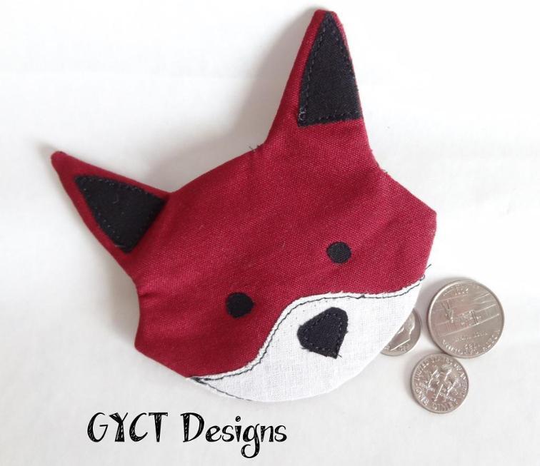 Fox Coin Pouch
