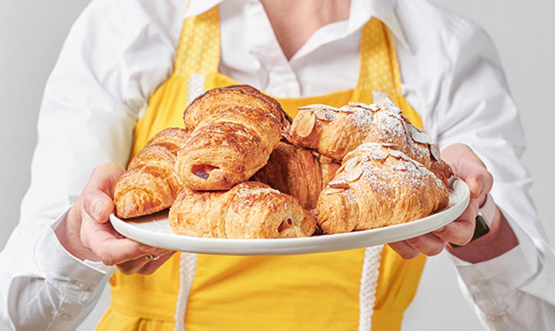 croissants on plate