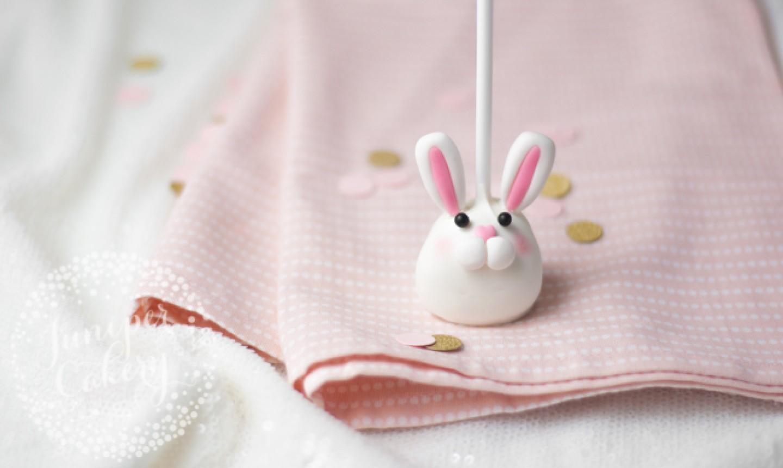 easter bunny cake pop