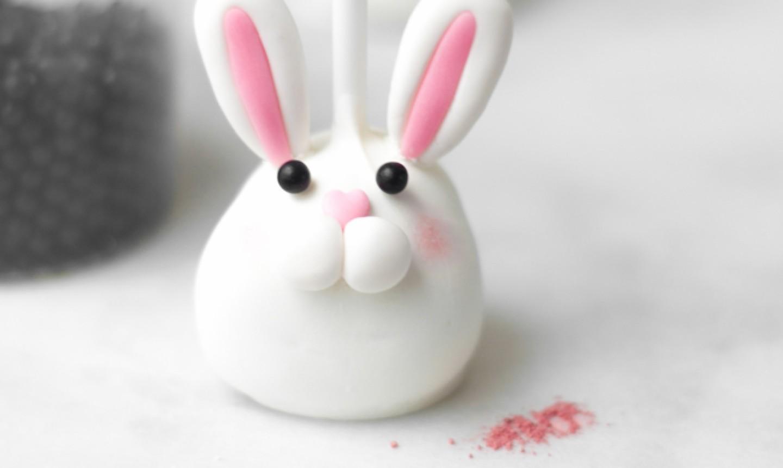 bunny cake pop