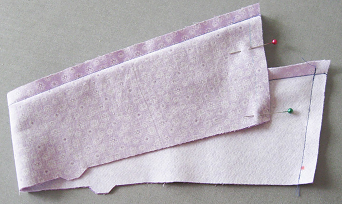 sewing short collar ends