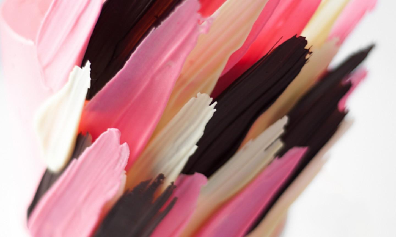 candy melt brush stroke details