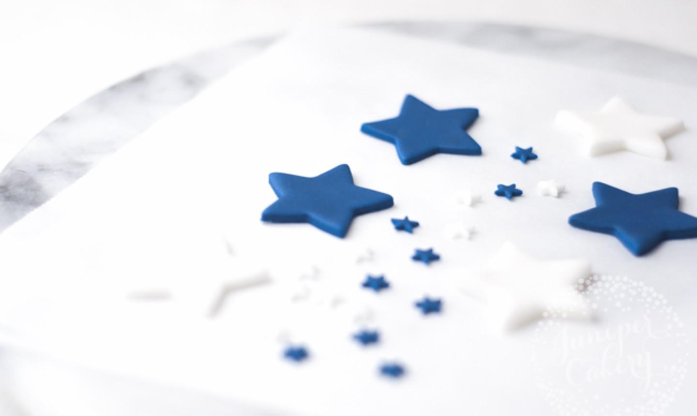 fondant stars