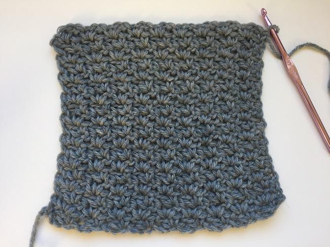 wattle stitch swatch