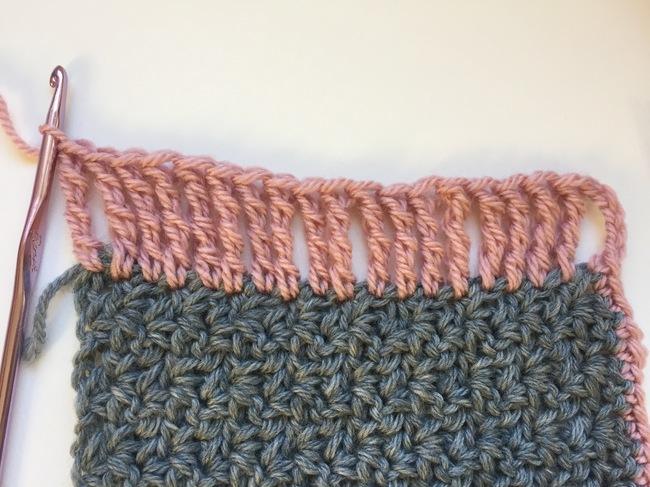 double treble crochet border