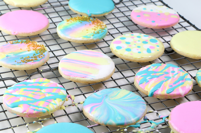 5 Ways to Decorate Cookies Without Piping Royal Icing