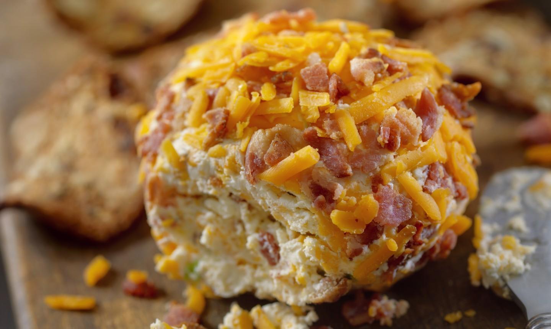 ham and cheese cheese ball