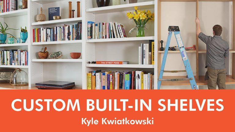 Custom Built-In Shelves