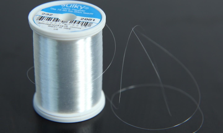 spool of monofilament thread