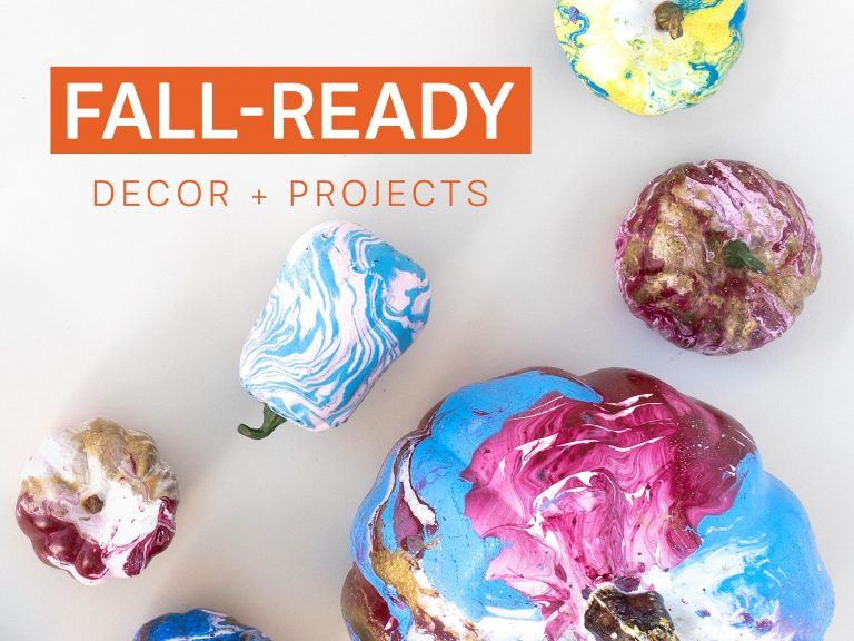 Fall-Ready Decor + Projects