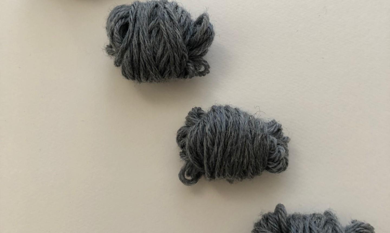 Wound up yarn