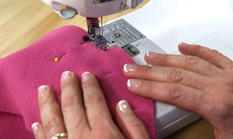 sewing a fleece blanket