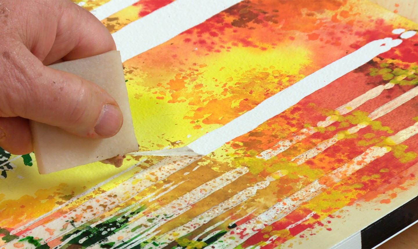 Masking Fluid: Your Watercolor Secret Weapon! | Craftsy