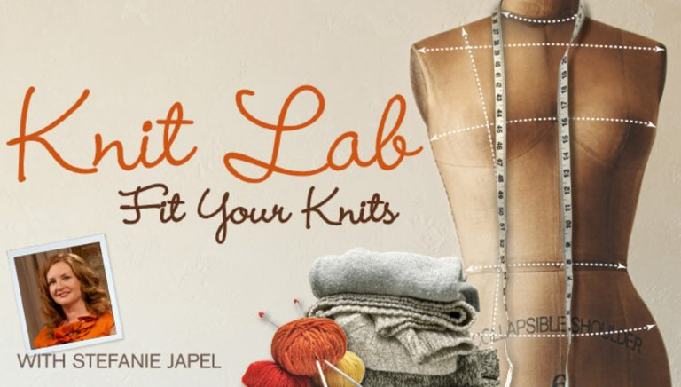 Knit Lab: Fit Your Knits