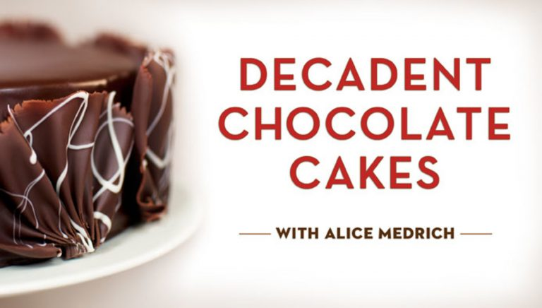 Decadent Chocolate Cakes