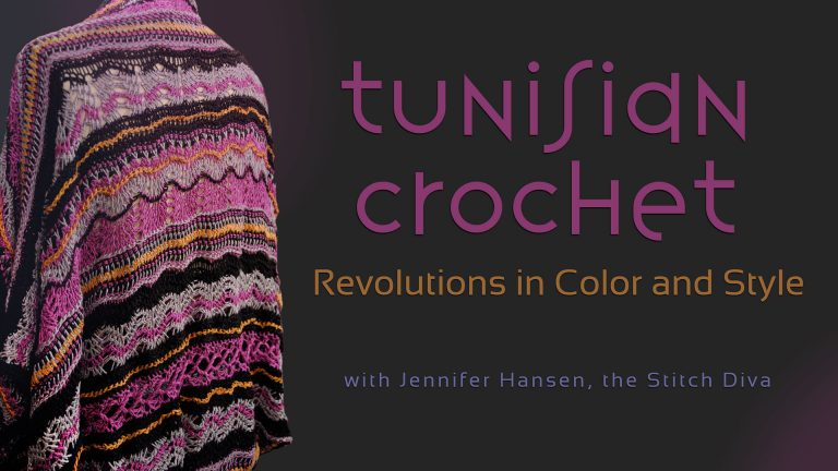Tunisian Crochet: Revolutions in Color and Style
