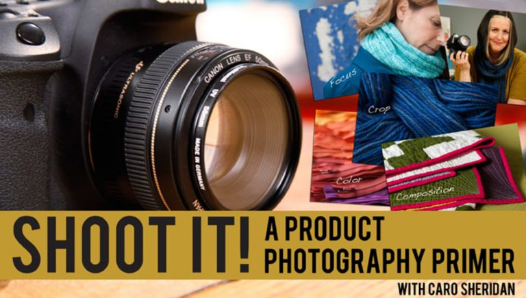 Shoot It! A Product Photography Primer