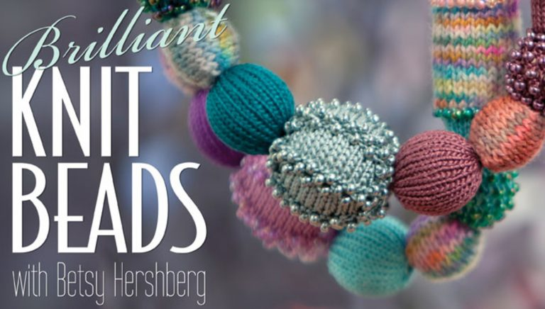 Brilliant Knit Beads