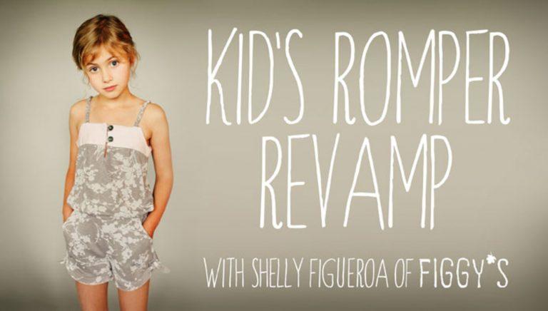 Kids Romper Revamp: Creative Pattern Adapting