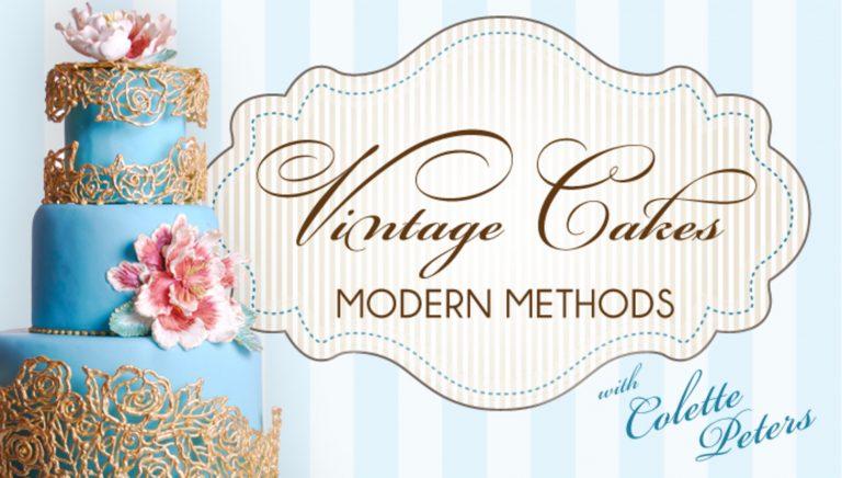 Vintage Cakes, Modern Methods
