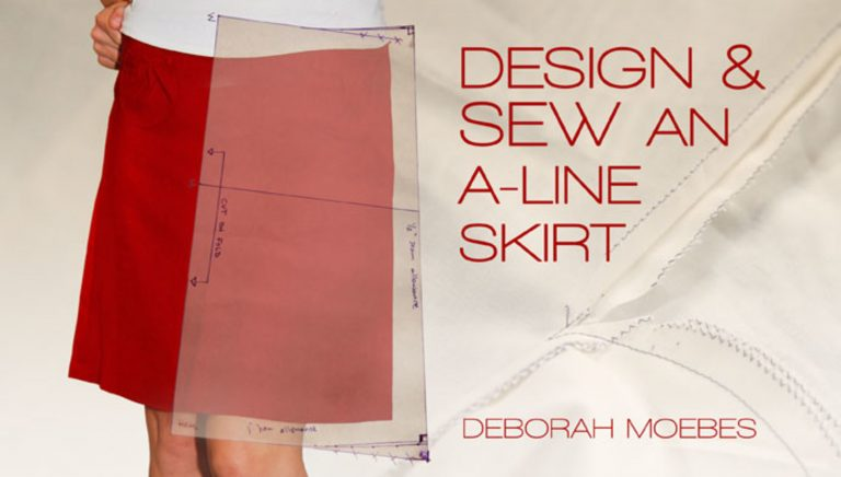 Design & Sew an A-Line Skirt